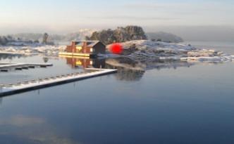 Illustrssjonsfoto av det optiske midtpunkt. Foto: Nina Marie Tømt Carlsen.